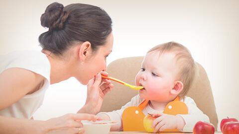 Alimentación sólida de tu bebé. Etapa 6 meses