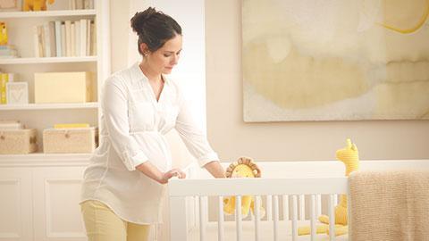Diseñar un cuarto del bebé estimulante